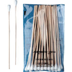 Industrial Cotton Swabs (Pointed Shell Type 4.8/5.0/8.0 mm/Wood Shaft)