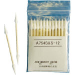 Industrial Cotton Swabs (Fine Point Cone Type 4.0 mm/Wood Shaft)