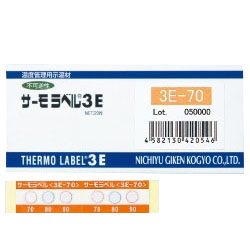 Thermo-Label-3E, Temperature Indicating Material For Temperature Management