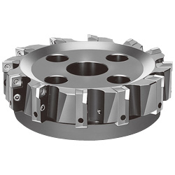 F2010 P4S90R Milling Cutter, for Shoulder Cutting (for General Cutting of Steel and Iron), Standard