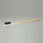 Bamboo brush toothpick type