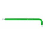 Ball End Long Hex Key (Green)