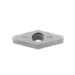 SUMIBORON Insert, 35° Diamond-Shape With Hole, Positive 7°, 2NC-VCGW
