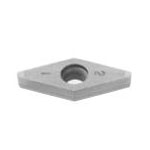 SUMIBORON Insert, 35° Diamond-Shape With Hole, Positive 7°, 2NC-VCGW-HS