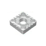 80° Diamond-Shape With Hole and Wiper Edge, Negative, CNMG-LUW, For Finish Cutting