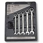 Gear Wrench (5-Piece Set) & Adapter Set 34269
