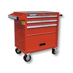 Roller Cabinet Set, 3-Step (Red) SG783