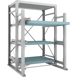 Full Slide Rack (1,000 kg/ Step), No Steel Plate