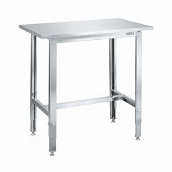 Stainless Steel Height Adjustable Work Bench