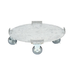 Stainless Steel Cylindrical Drum Dolly
