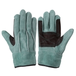 Oil Leather Gloves 107AAA with Large Oil Guard
