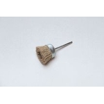 Miniature Grit Shaft Mounted Cup Brush, with Abrasive Sanding