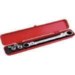 Double Flex Lock Gear Wrench