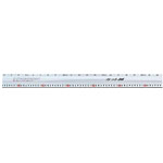 Aluminum Cutter Ruler, Cut Master
