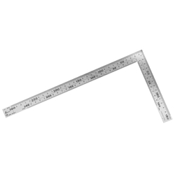 Carpenter's Square, Thick and Wide Stainless Steel