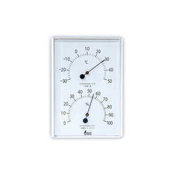 Thermometer and Hygrometer, Round