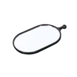 Component, inspection mirror, magnifying mirror