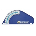 Blue Slant Bubble Tube Type
