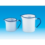 Enameled Beaker with Handle with Scale 300 mL–10 L
