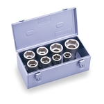 Long Socket Set (with Metal Tray) NV608L