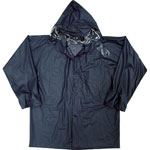 Rain Suit: Clear, Navy