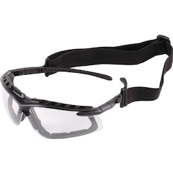 Twin-Lens Safety Glasses (Combined Goggle Type)