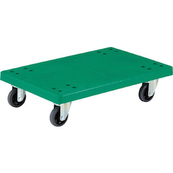 Plastic Flat Trolley, Grand Cart (4-wheel Swivel Type)