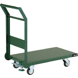 Steel Carrier Cart Fixed Handle Type with Stopper 800 x 450 - 1,400 x 750 Handle Height (mm) 880
