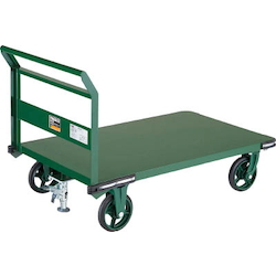 Steel Carrier Cart Fixed Handle Type with Stopper 800 x 450 - 1,400 x 750 Handle Height (mm) 900