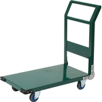 Steel Silent Hand Truck, Fixed Handle Type with Air Casters