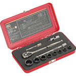 Socket wrench set (12 angle type)