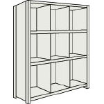 Small Capacity Bolted Shelves (Vertical Partitions Provided, 100 kg Type, Height 1,200 mm and 1,500 mm)