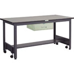 Caster-Free Work Table with 1 Drawer, Equal Load (kg) 500