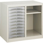 Letter Cabinet (A4 Combination Type with Shelf)