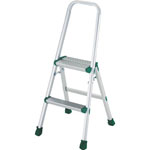 Aluminum Stepladder (for Light Work / With Upper Frame and Leg Covers)
