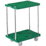Plastic Flat Trolley, Route Van, 2-Level Type
