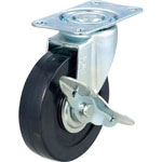 Small Capacity Hand Lifter (Folding Handle Type) Replacement Casters, Swivel Stoppers Provided