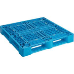 Plastic Pallet Green/Blue/Red Frontage 1100 mm