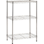 Stainless Steel Mesh Rack (SUS304 Uniform Load 30 kg, Pipe Diameter ø19 mm) Additional Shelf