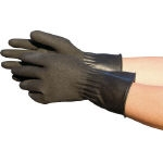 Natural Rubber Gloves Black Current