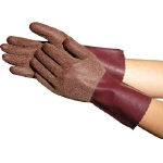 Natural Rubber Gloves Towaron Long Type (with fabric lining)