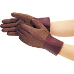 "Natural Rubber Fur Gloves ""Towaron for Cold Protection"""