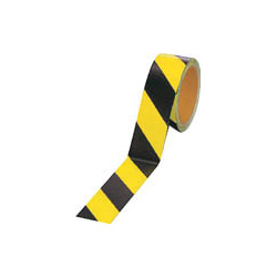 Fluorescent Reflective Tape (Yellow/Black)
