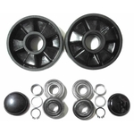 Steering Foil Rear Wheel 1 + Mounted Component Complete Set