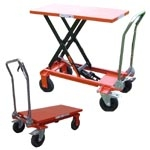 Hydraulic Scissor Lift Table 150 kg Standard Type