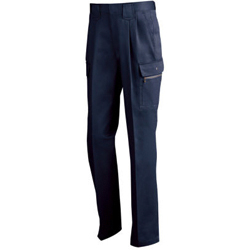 Handsome Double Pleated Cargo Pants 2073