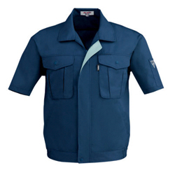Short-sleeved Blouson