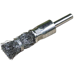 Steel Wire End Brush with Shaft