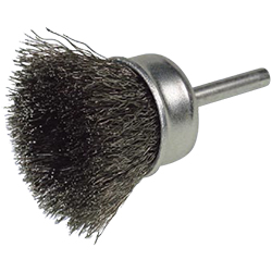 Stainless Steel Cup Brush With Shaft