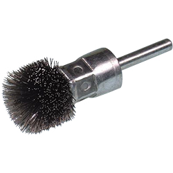 Stainless Steel Thistle Type Brush With Shaft